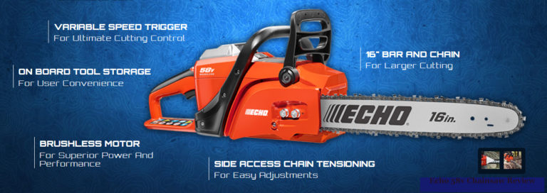 Echo 58v Chainsaw Review