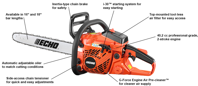 Echo CS 400 chainsaw review