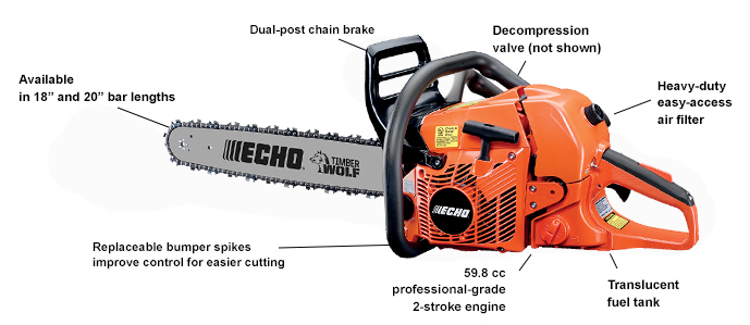 Echo Chainsaw CS-590
